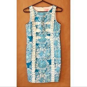Lilly Pulitzer Mirabelle Lace Flower Shift Dress
